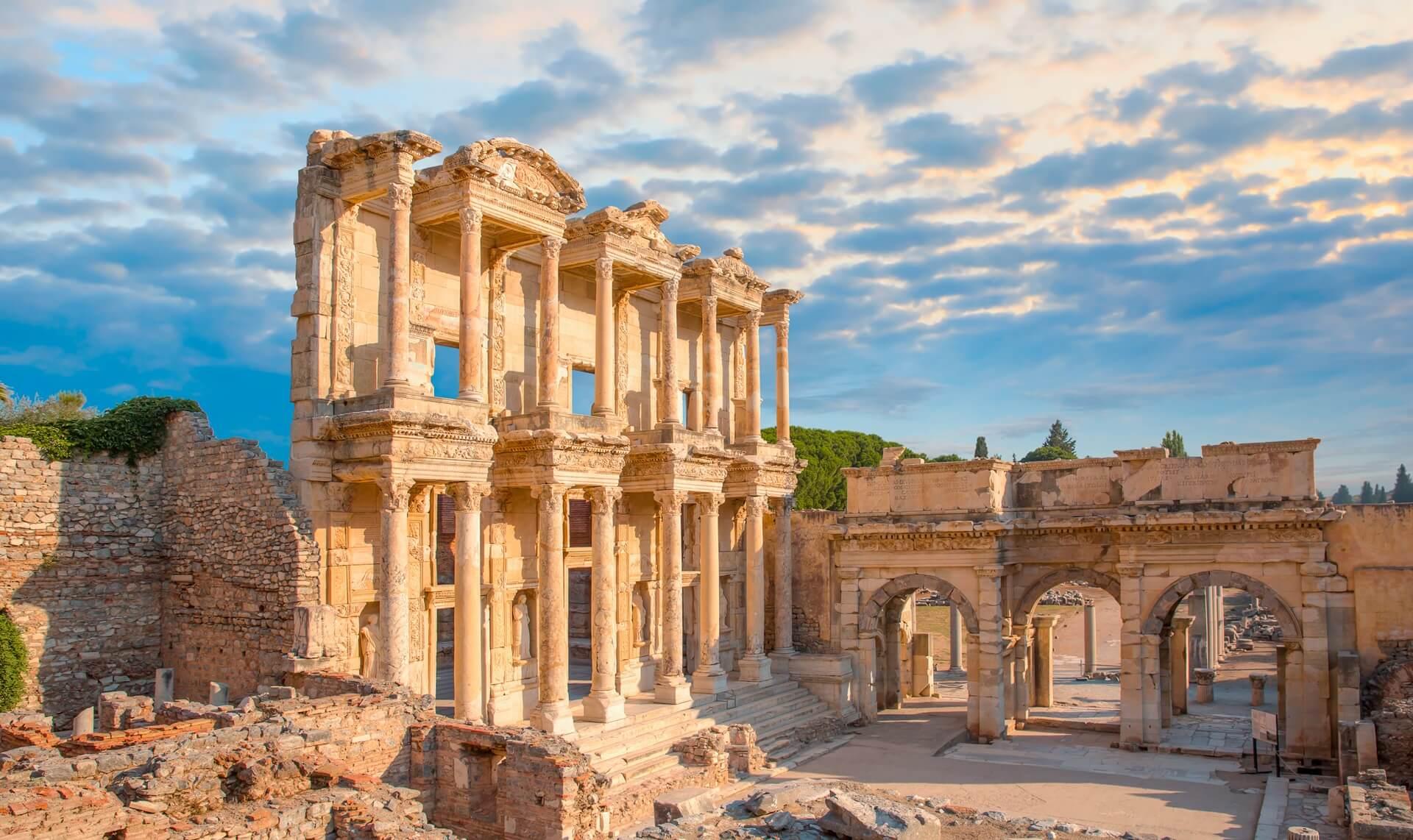Die Antike Stadt Ephesus